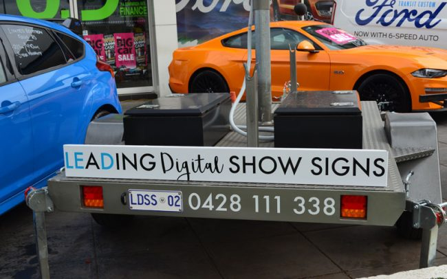 digital trailer signage specialists