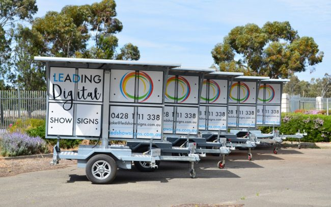 signage trailers